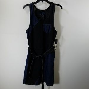 NWT Marc By Marc Jacobs Belted Denim Dress Size 8